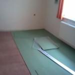 Montáž plovoucí podlahy